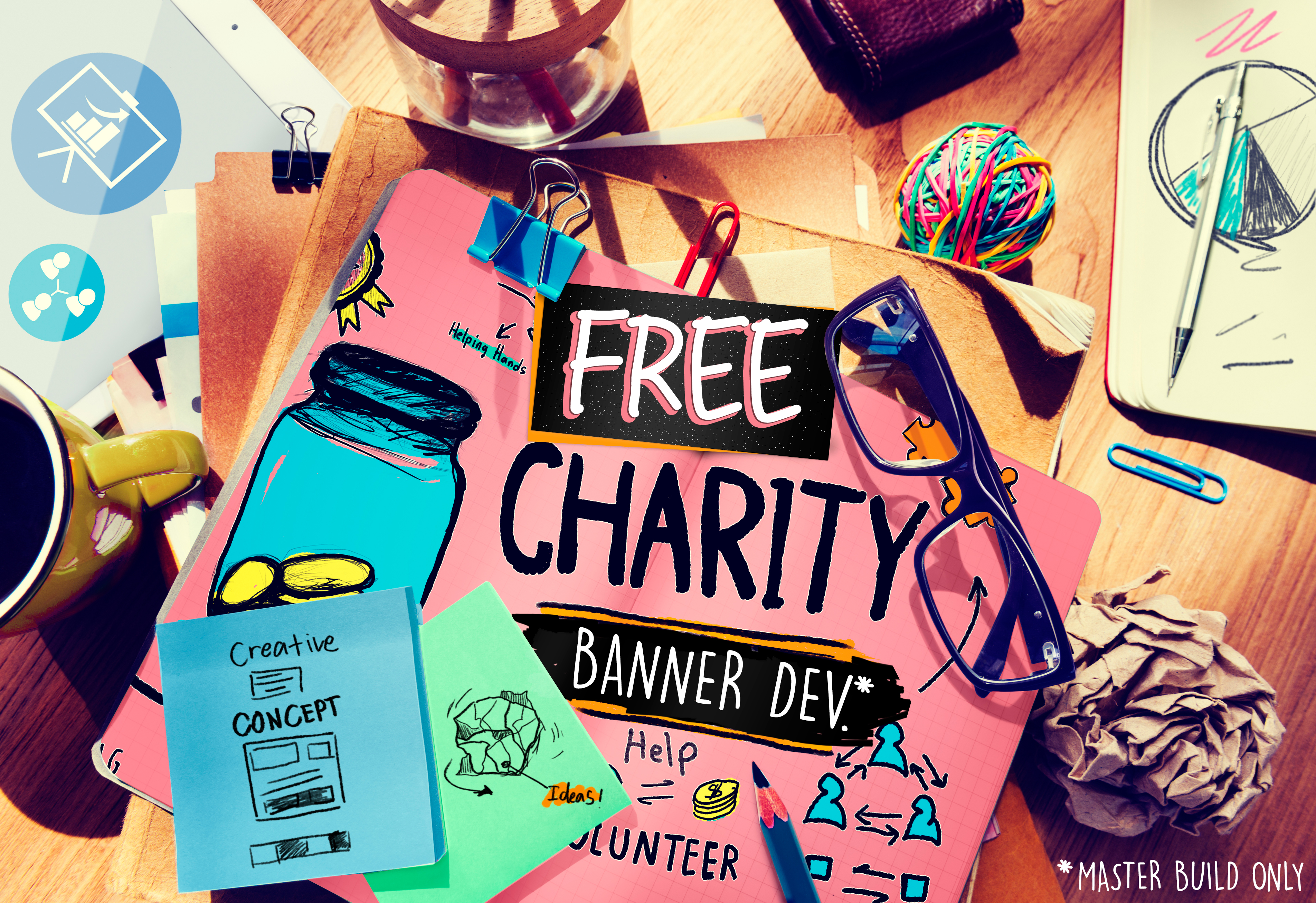 FREE CHARITY BANNER DEV!